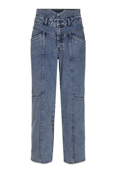 Zora Jeans - Blauw Steenwash