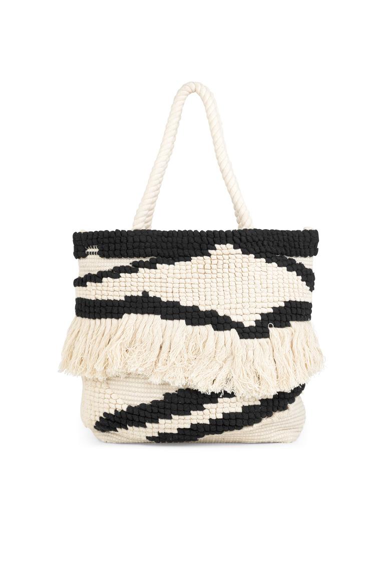 Lolly Bag - White Alyssum-1