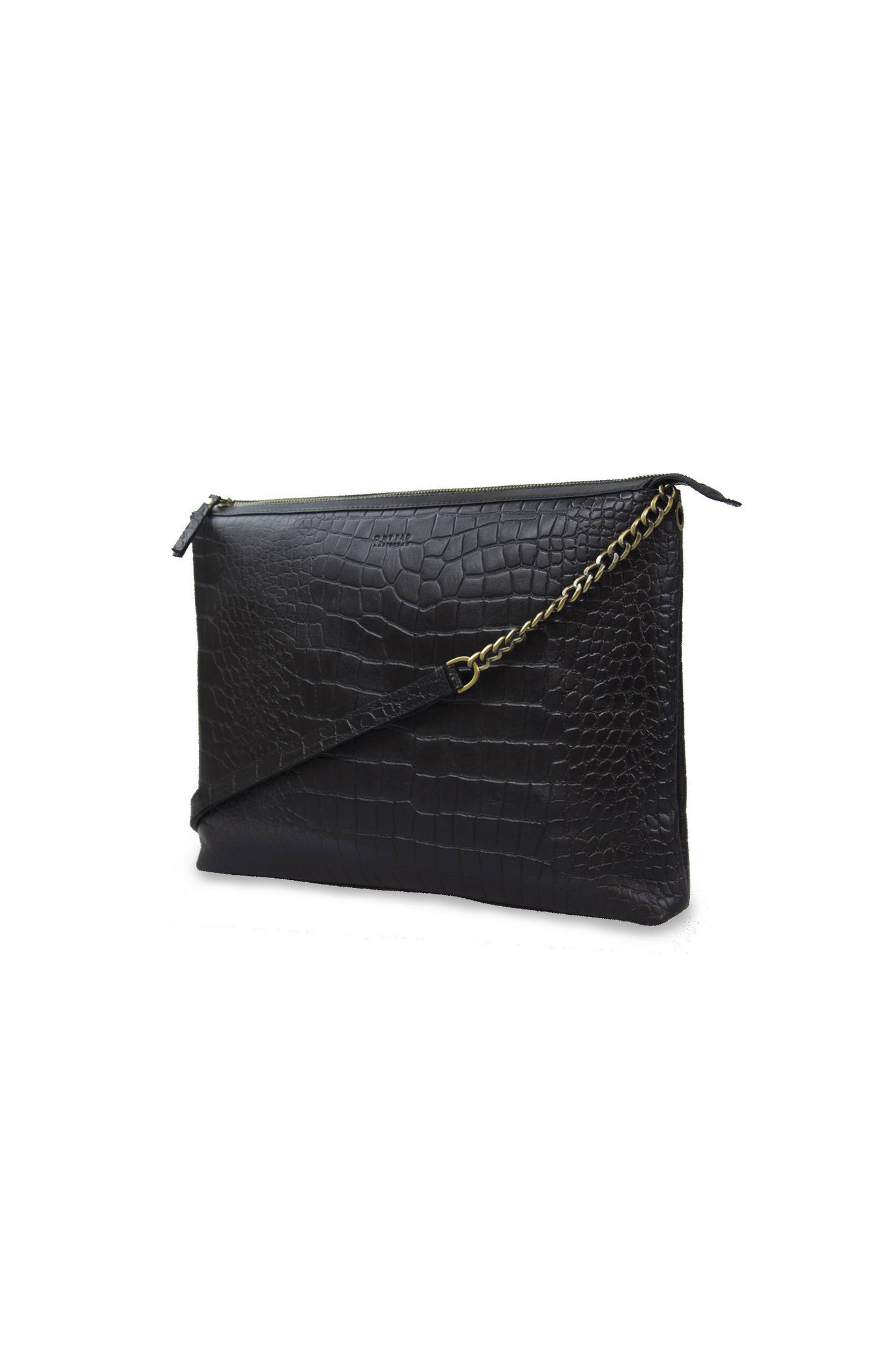 Scarlet Bag - Black Croco Classic Leather-2