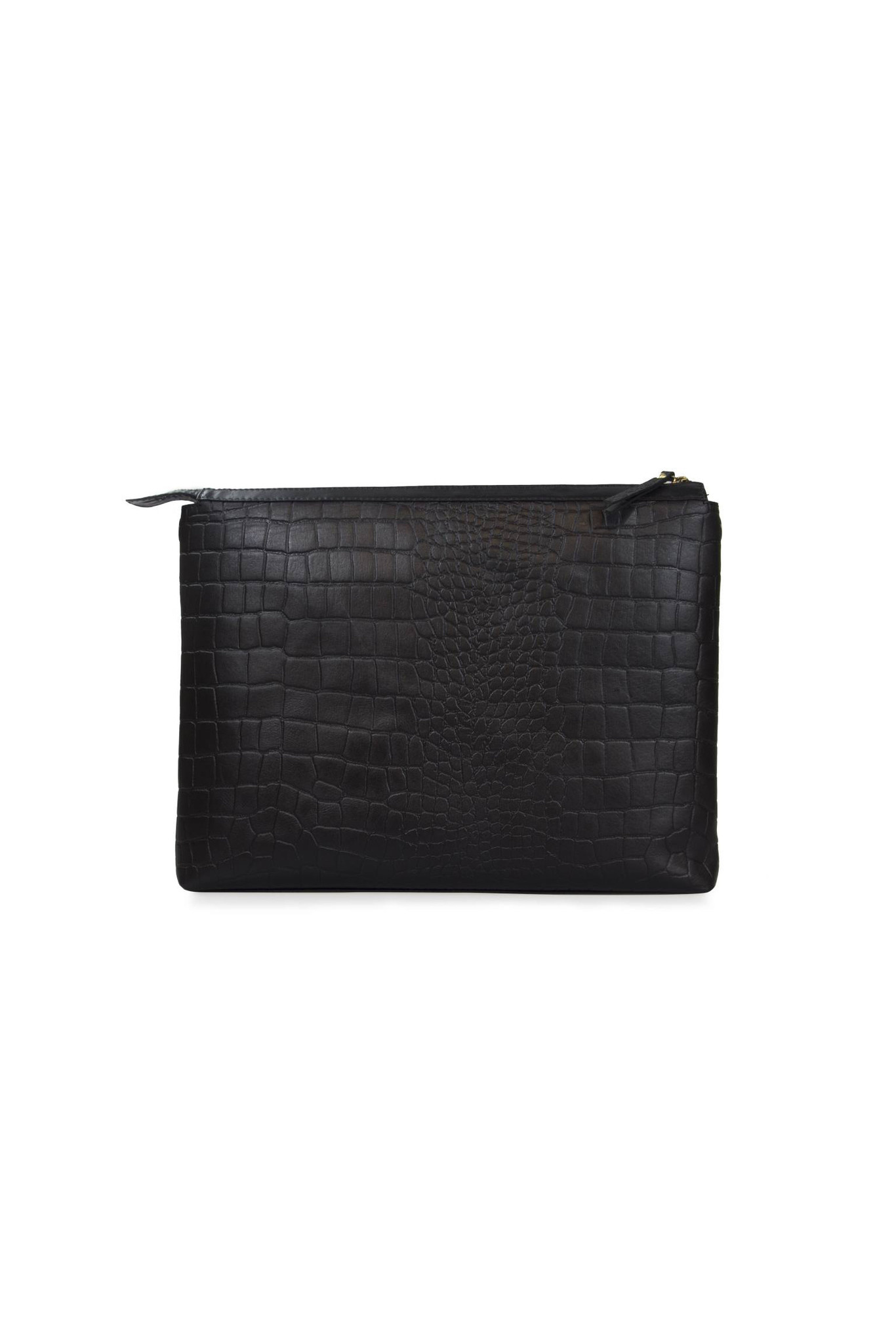 Scarlet Bag - Black Croco Classic Leather-3