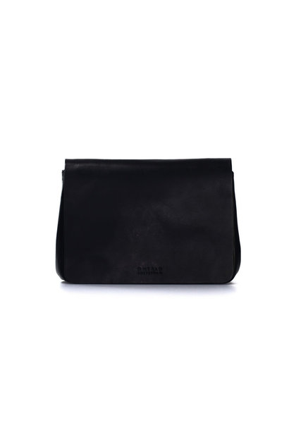 The Lucy Bag - Eco Black Classic Leather