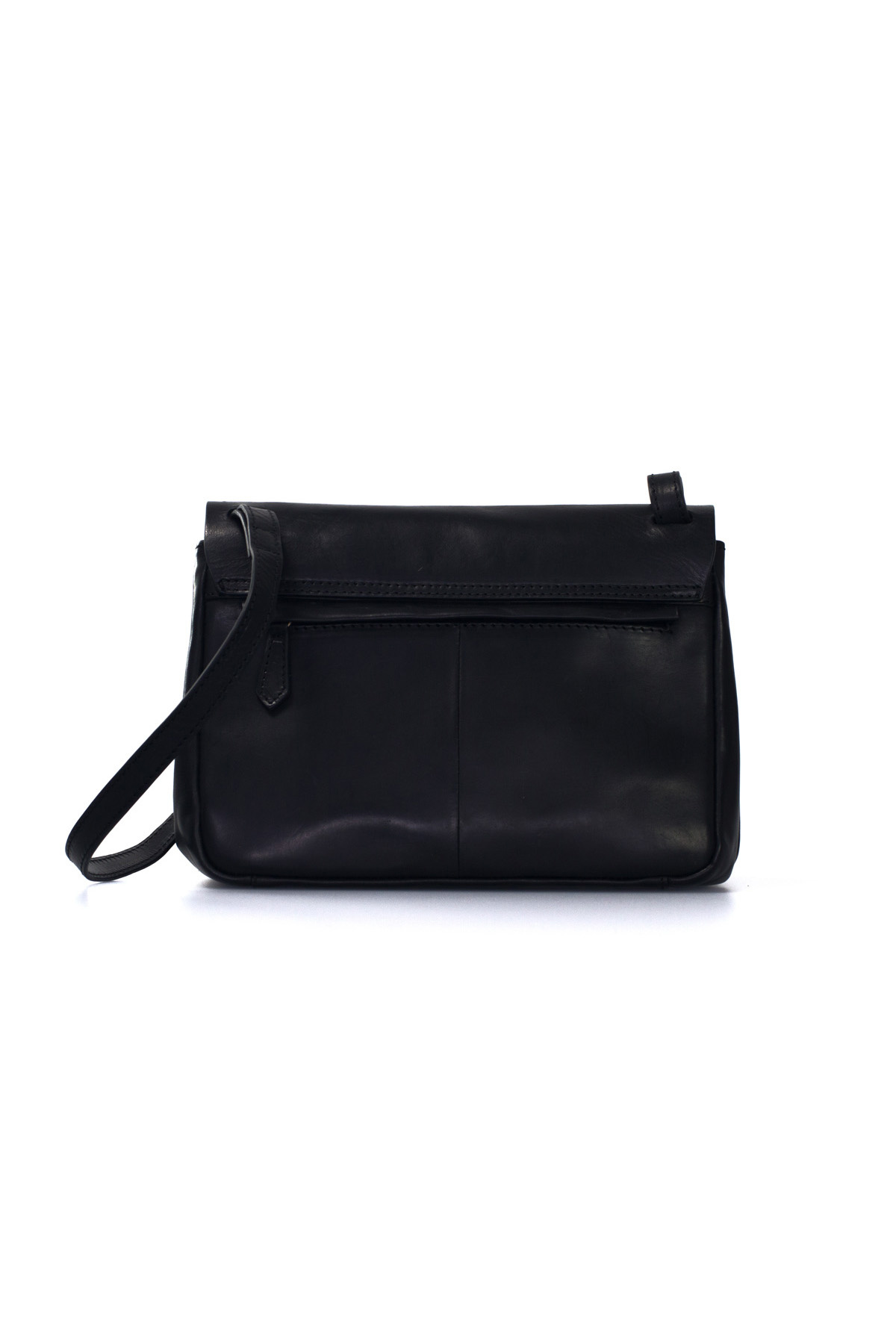 The Lucy Bag - Eco Black Classic Leather-3