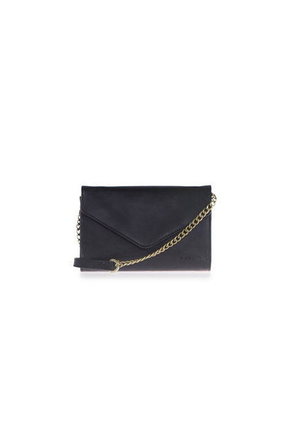 Josephine Chain Bag - Black Classic Leather
