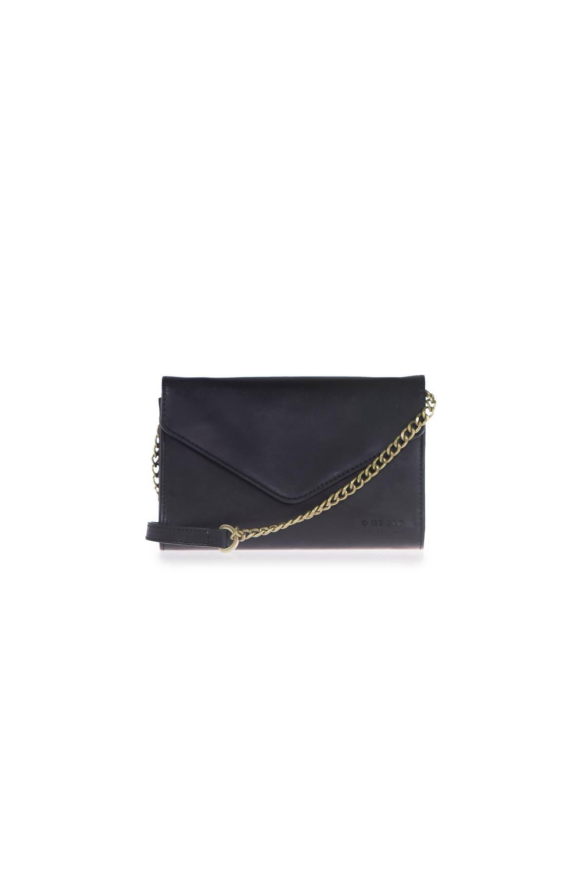 Josephine Chain Bag - Black Classic Leather-1
