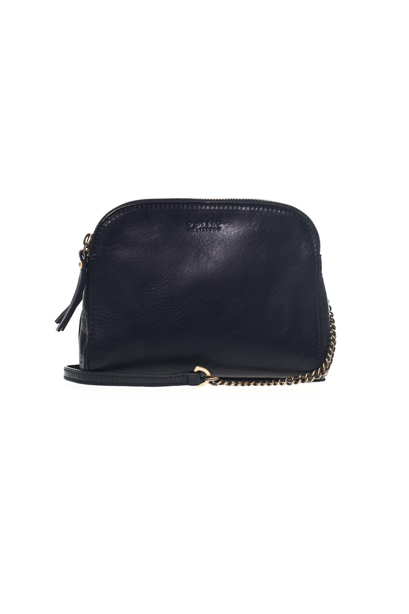 Emily Bag - Black Eco Stromboli Leather-1