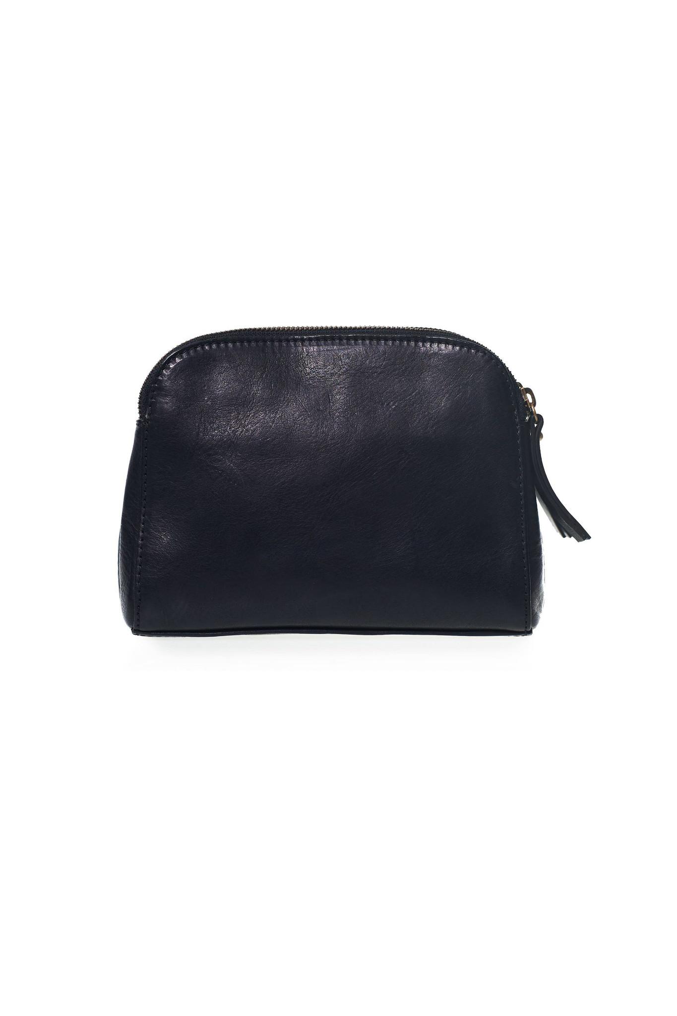 Emily Bag - Black Eco Stromboli Leather-2