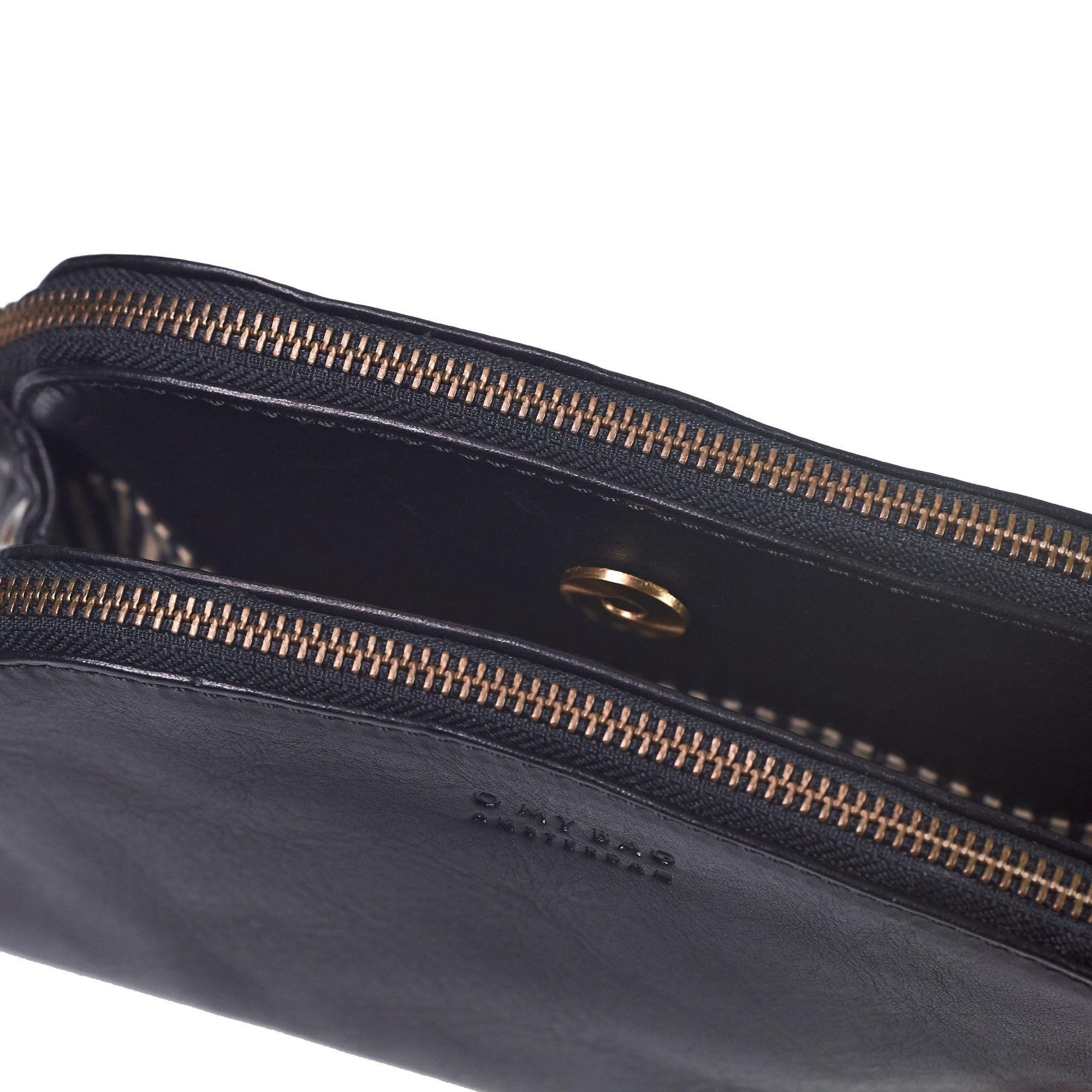 Emily Bag - Black Eco Stromboli Leather-3