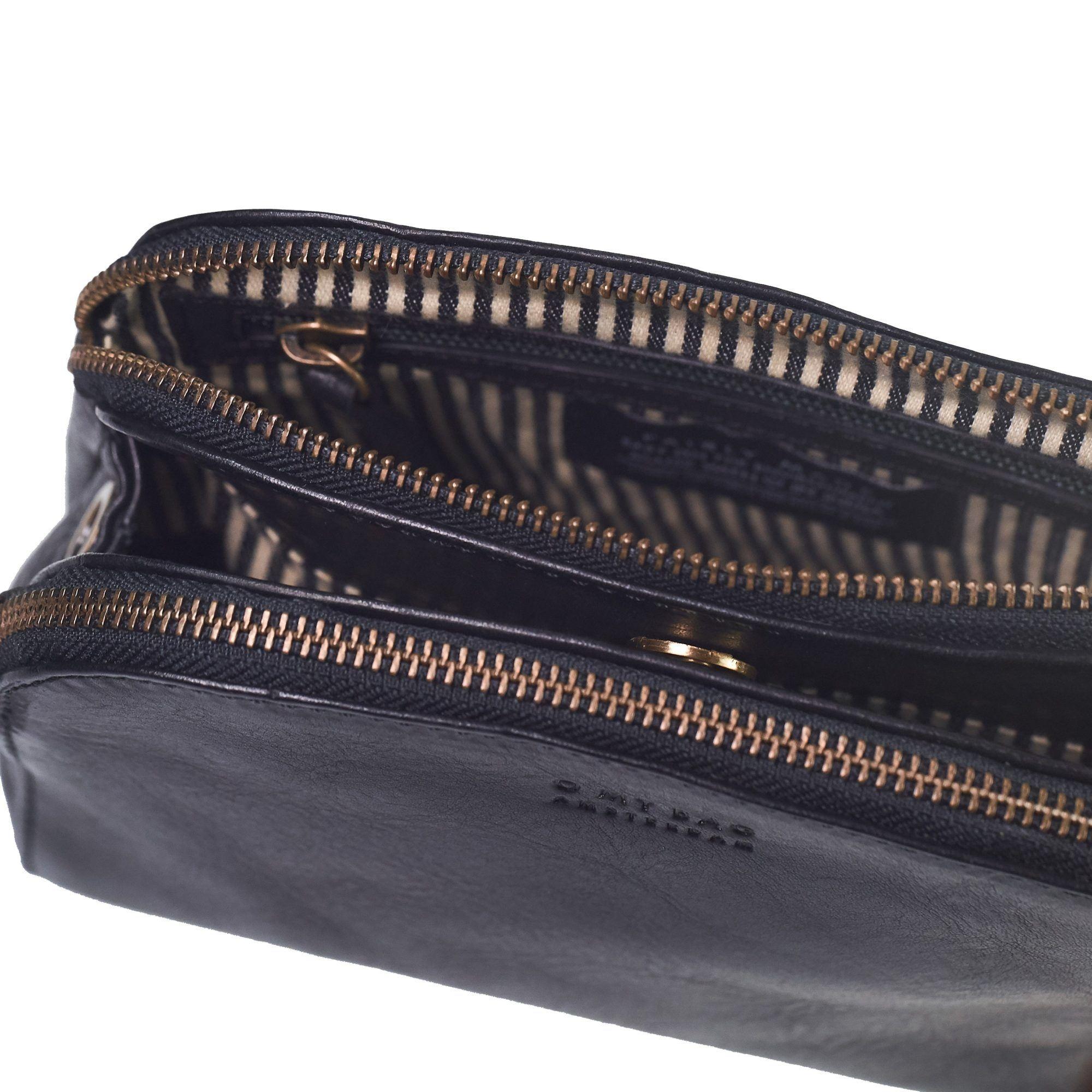 Emily Bag - Black Eco Stromboli Leather-4