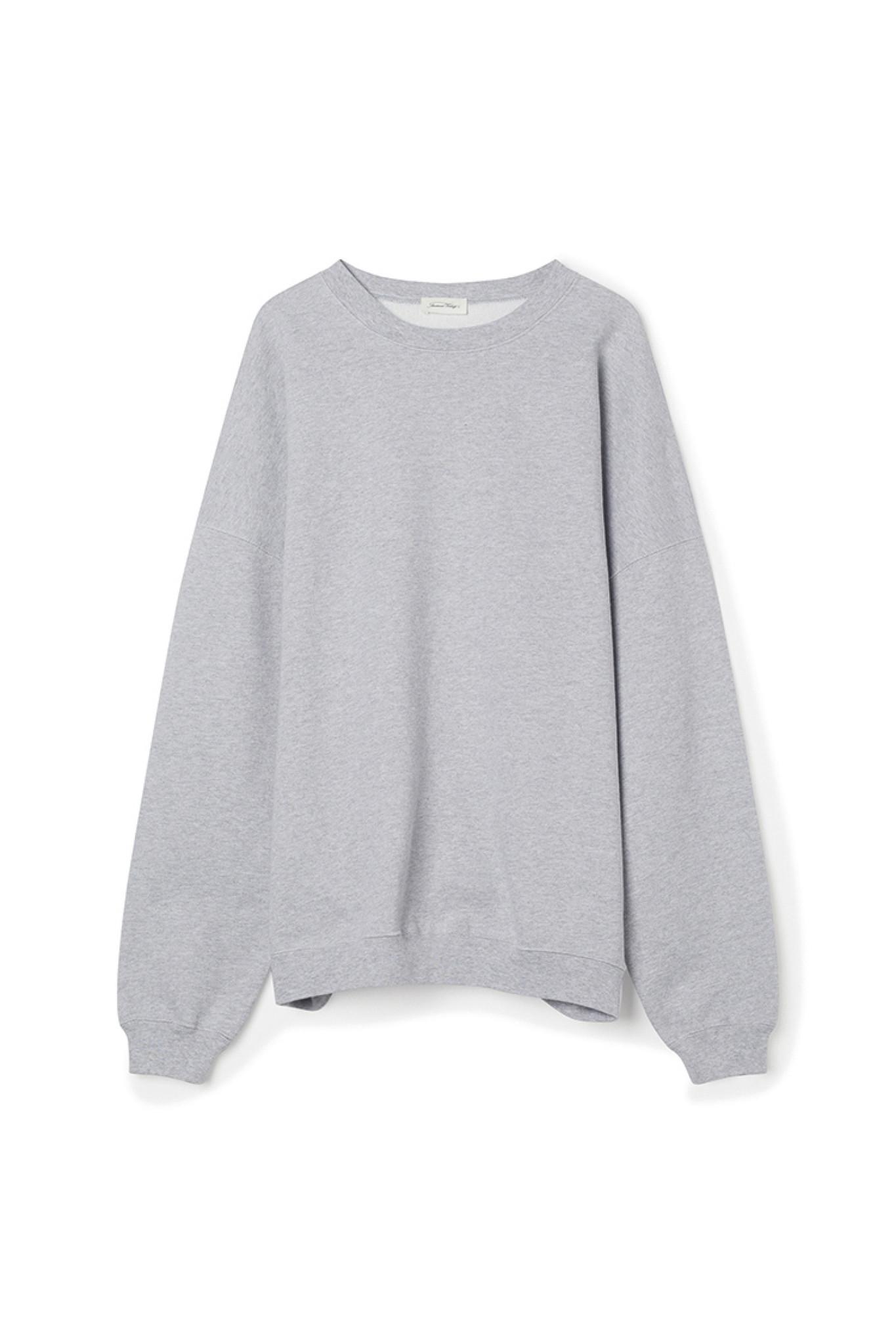 Baetown Sweater - Light Grey Melange-1