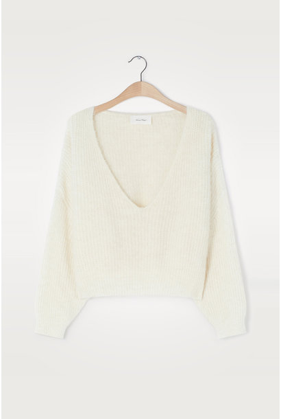 East Pullover - Mother of Pearl Melange
