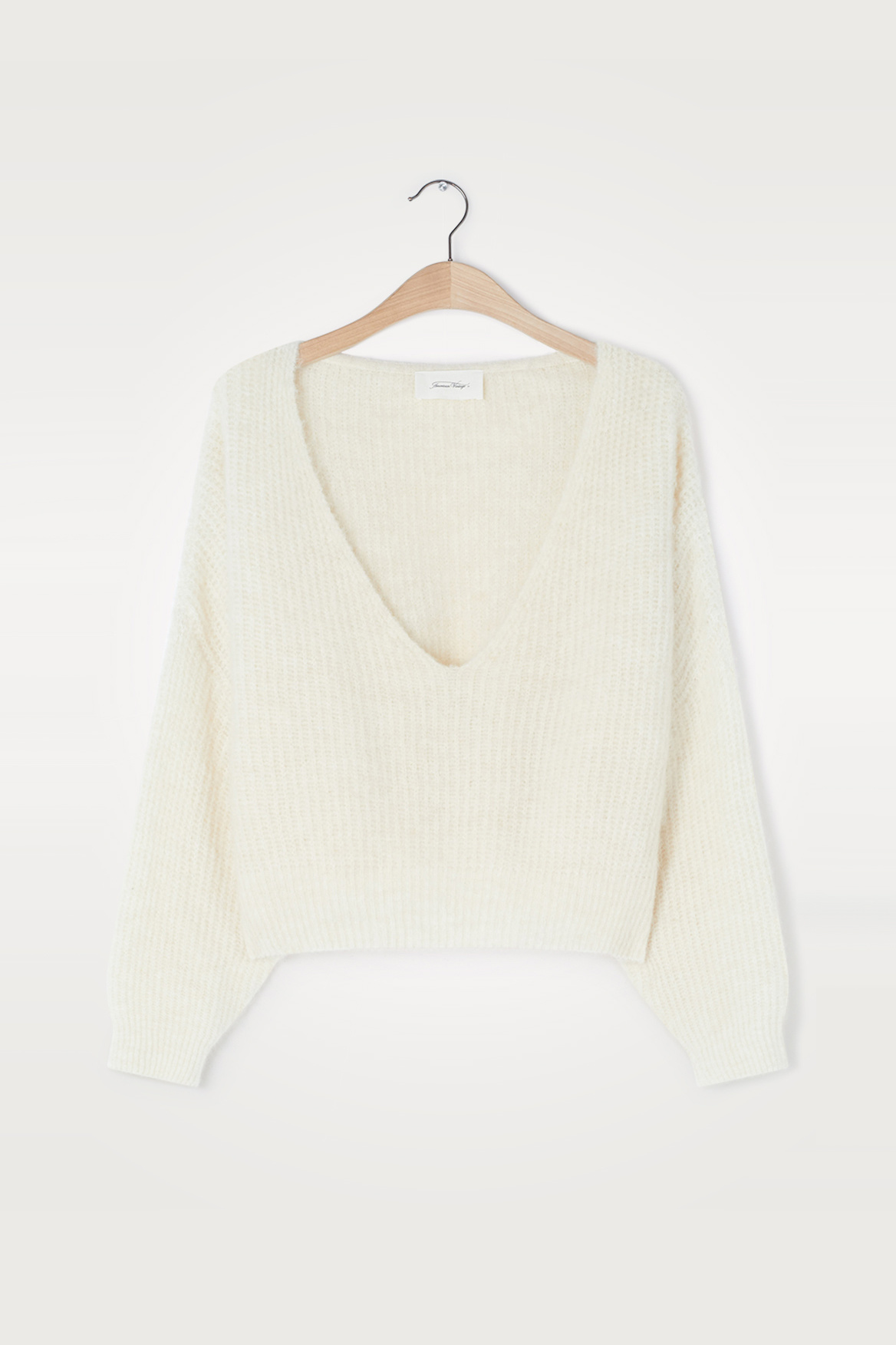 East Pullover - Mother of Pearl Melange-2