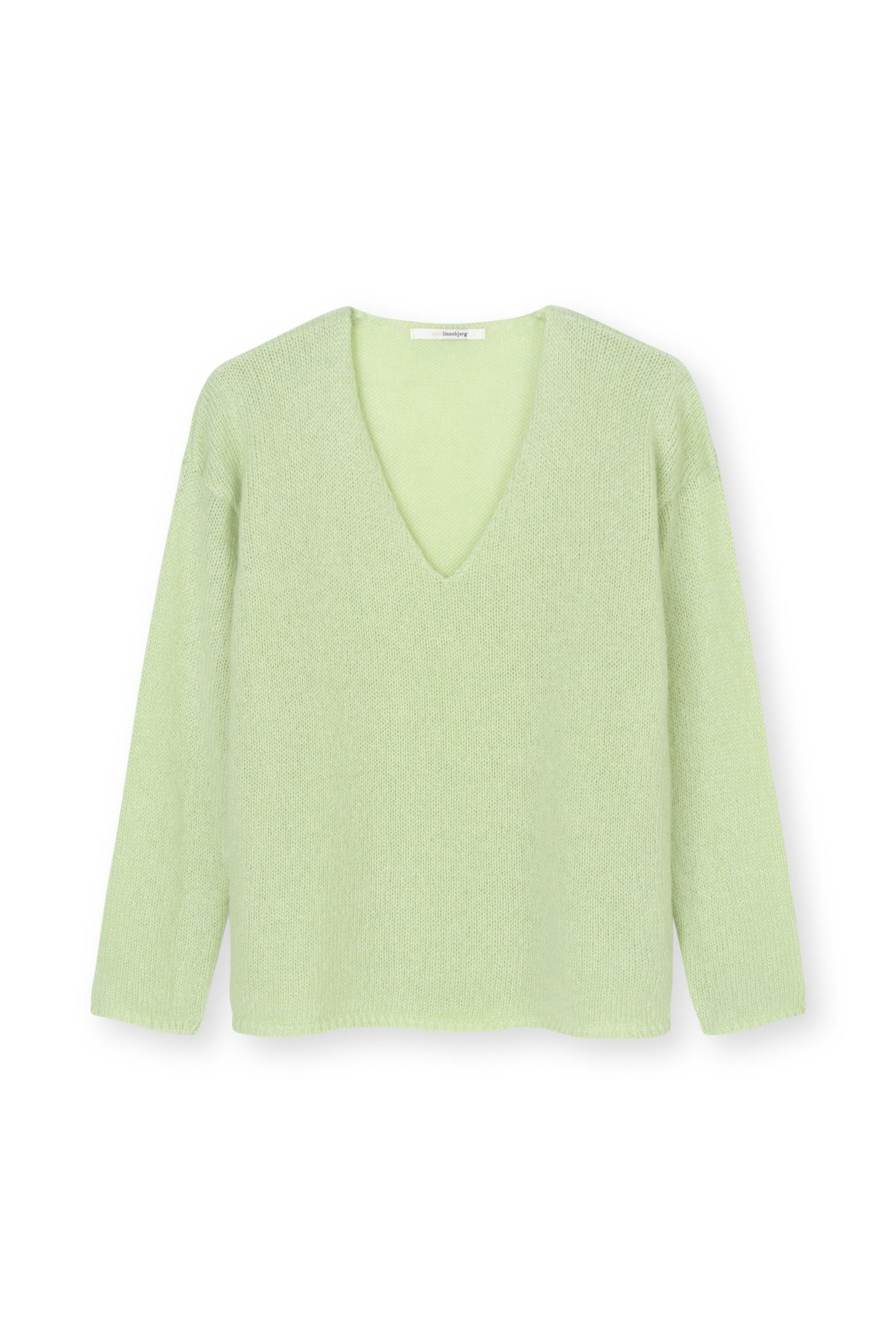 Diana Top - Soft Groen-1
