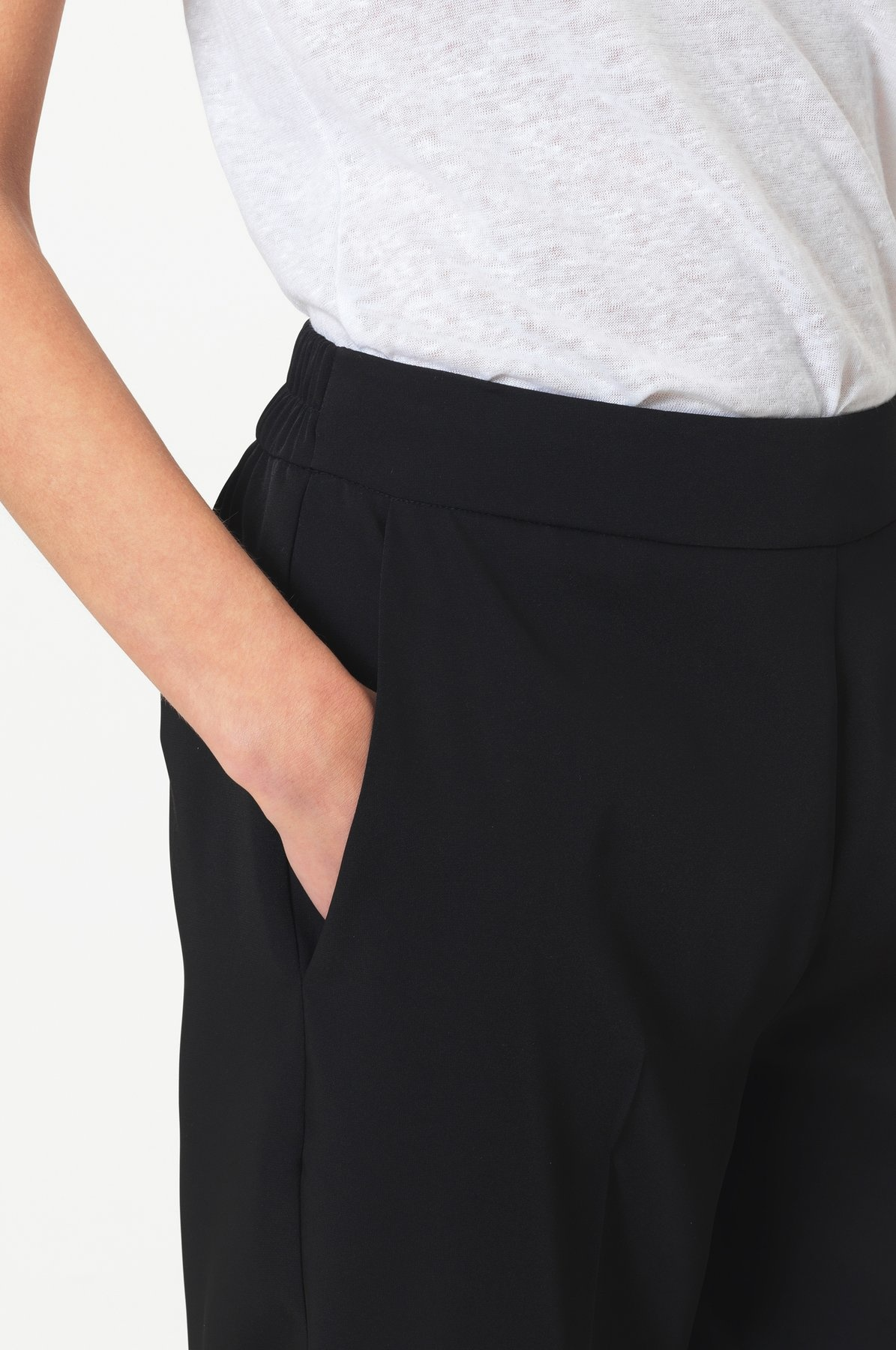 Garbo Trousers - Peppercorn-4