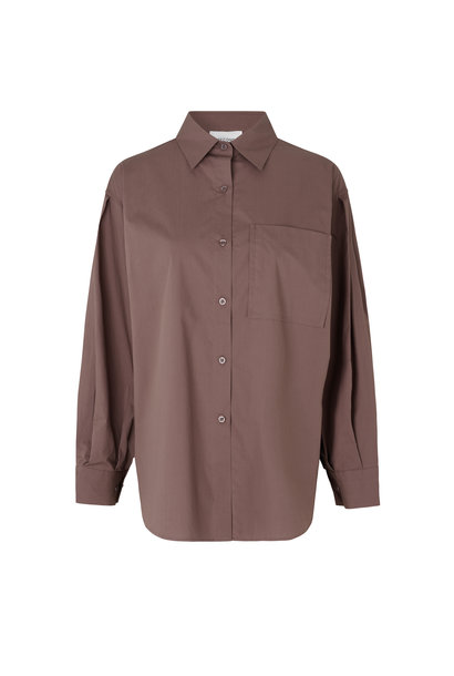 Larkin New Shirt - Peppercorn