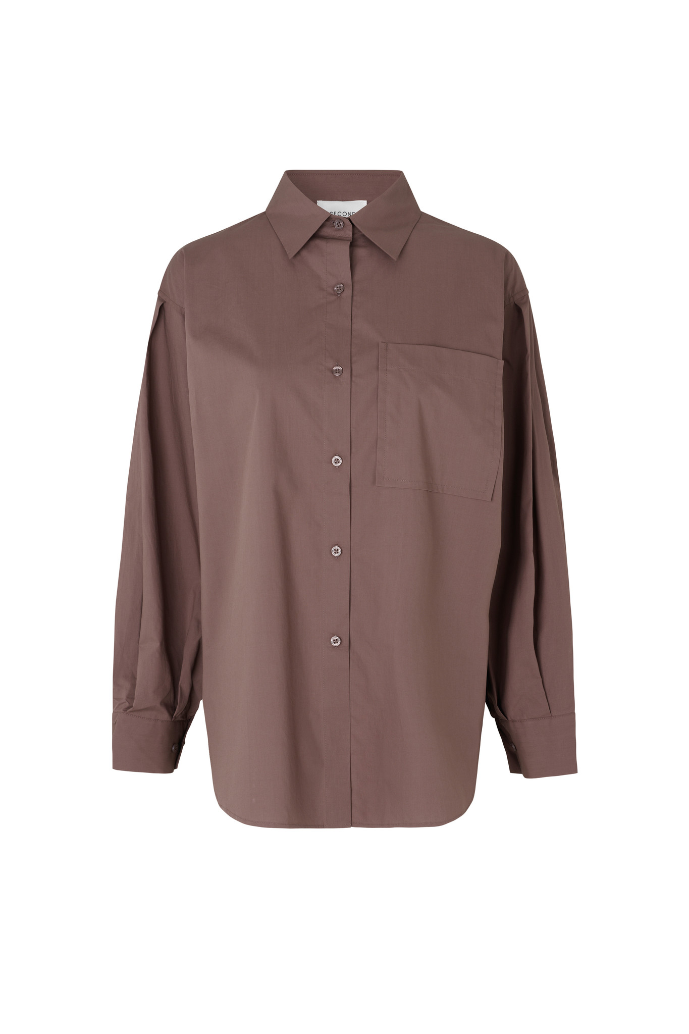 Larkin New Shirt - Peppercorn-1