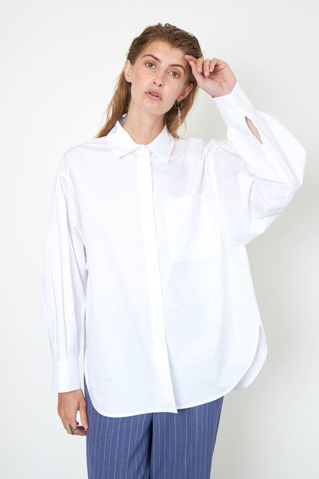 Larkin New Shirt - White-2