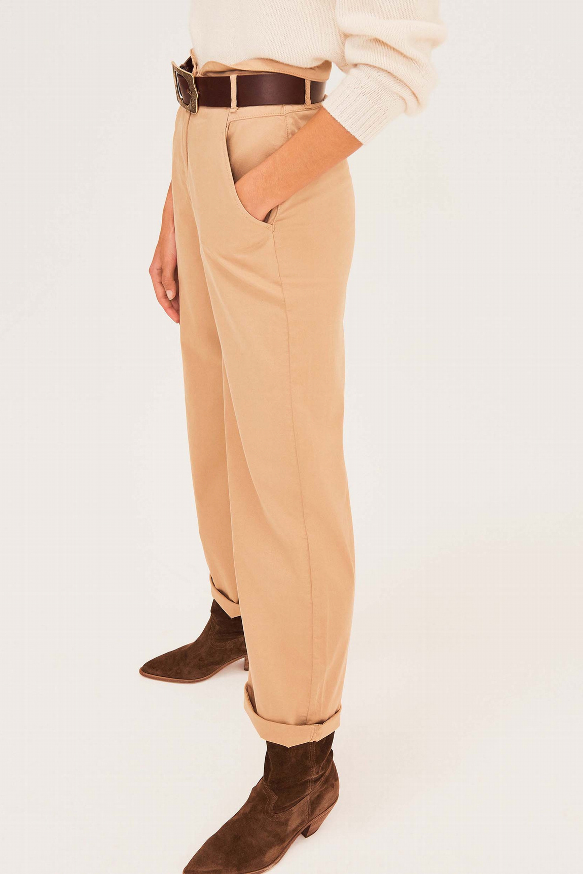 Boy Trousers - Beige-4