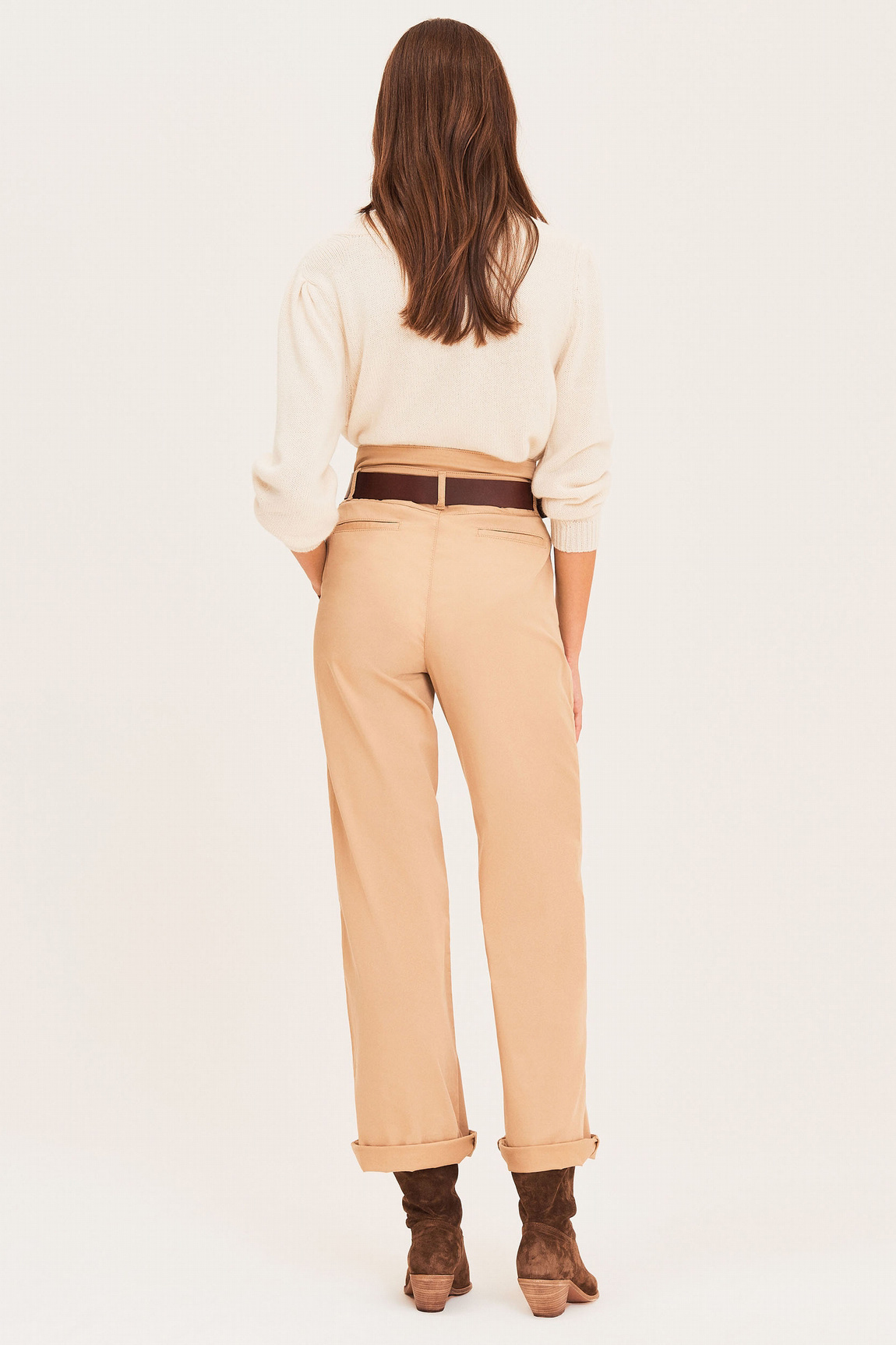 Boy Trousers - Beige-5