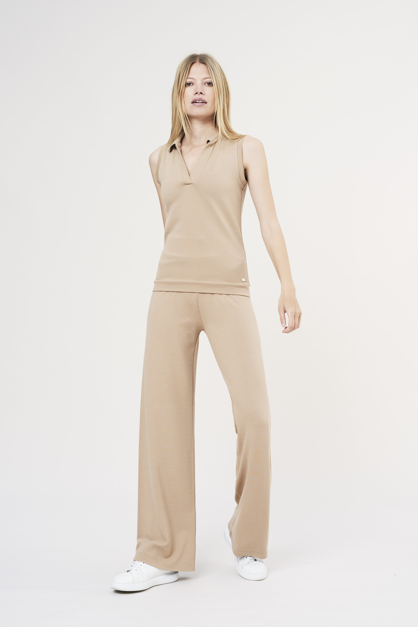 Forest Flare Pants - Sand-3