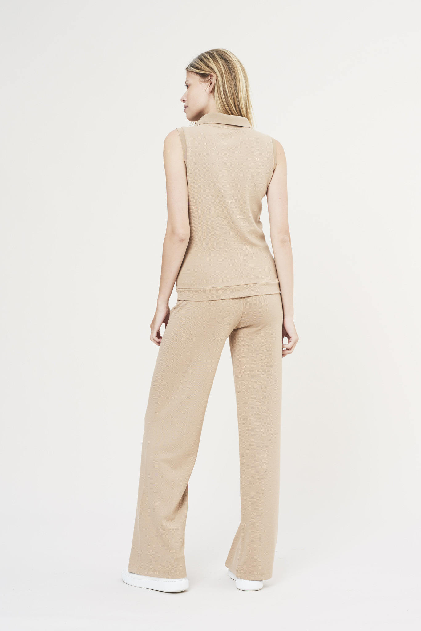 Forest Flare Pants - Sand-5