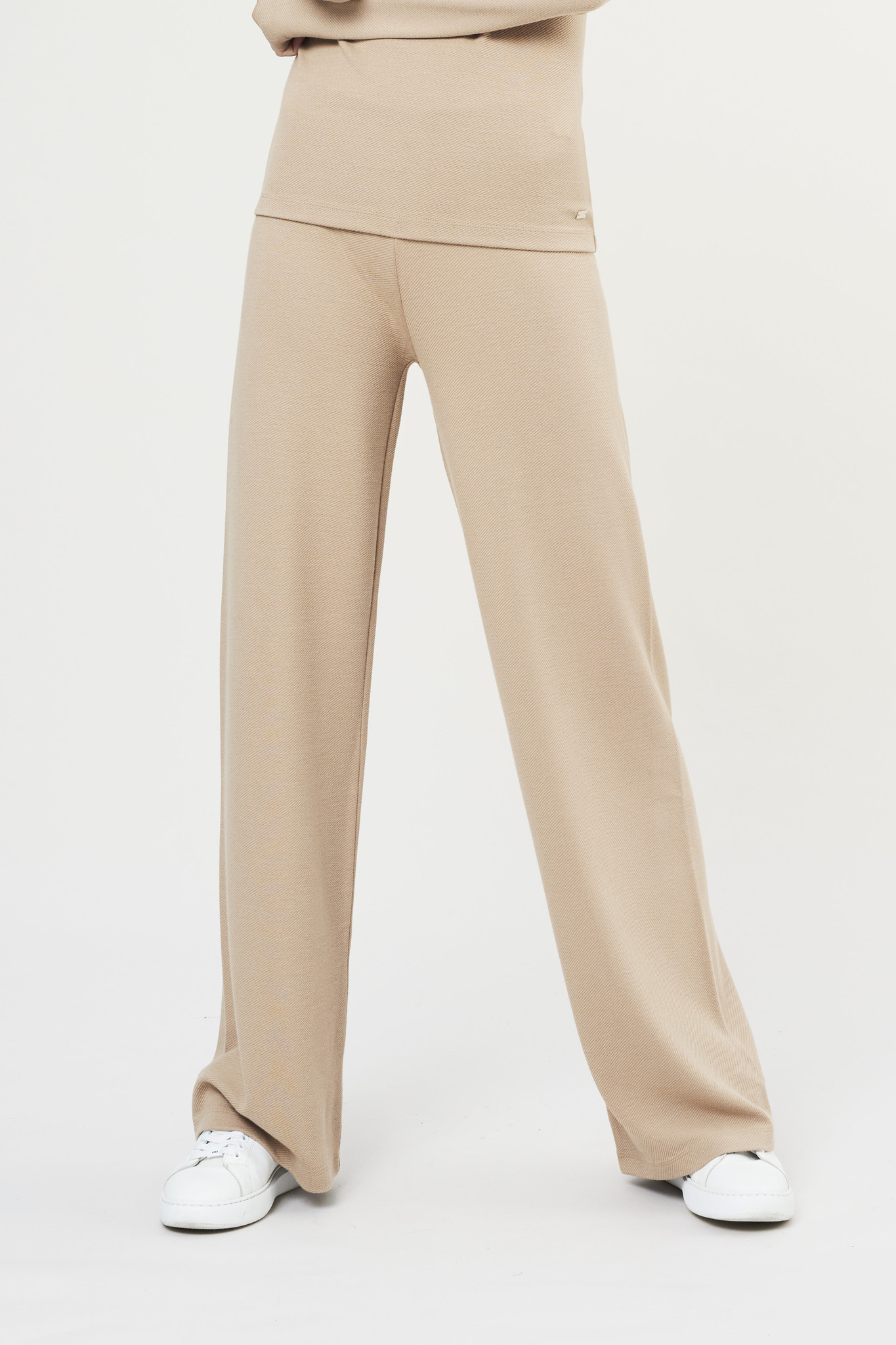 Forest Flare Pants - Sand-2