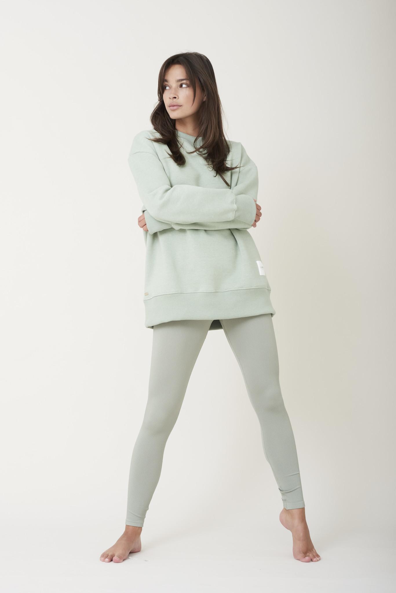 Kylie Sweater - Sage Groen-3