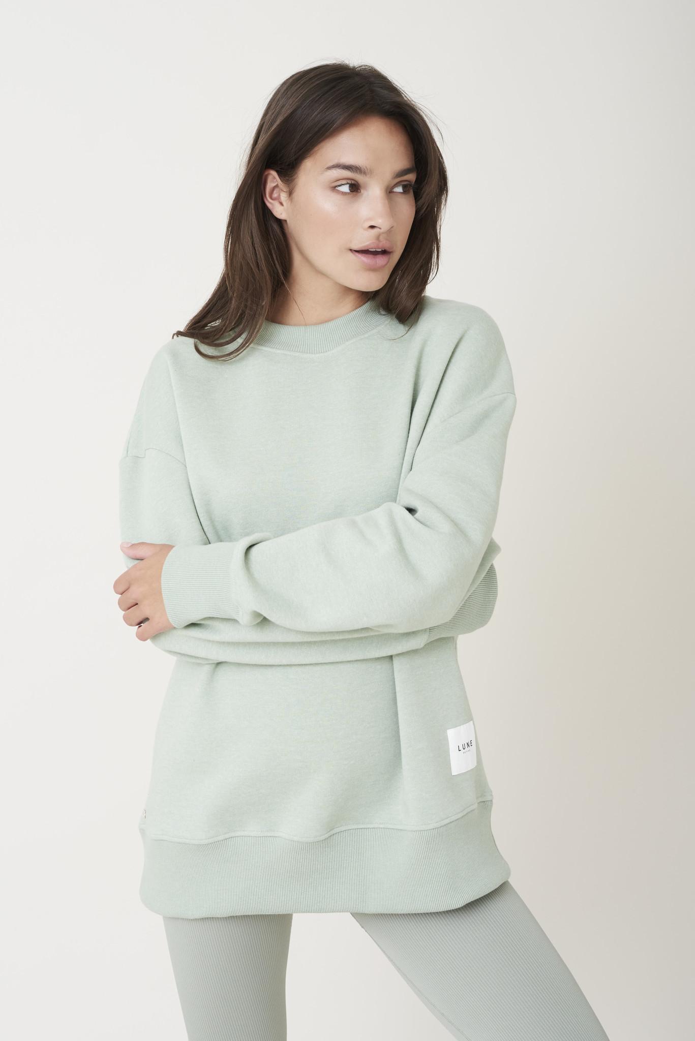 Kylie Sweater - Sage Groen-4