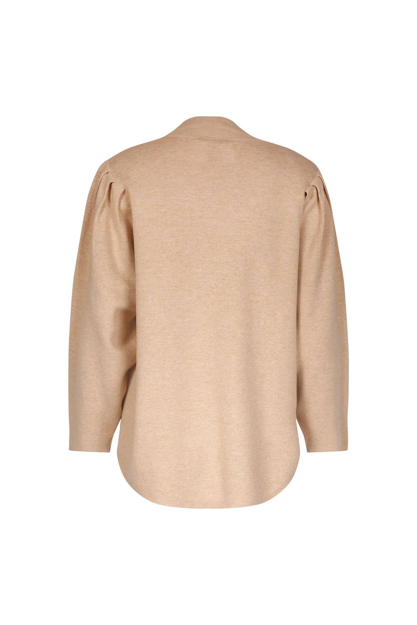 Claire Sweater - Camel Melange-2