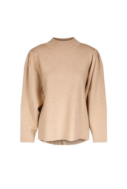 Claire Sweater - Camel Melange