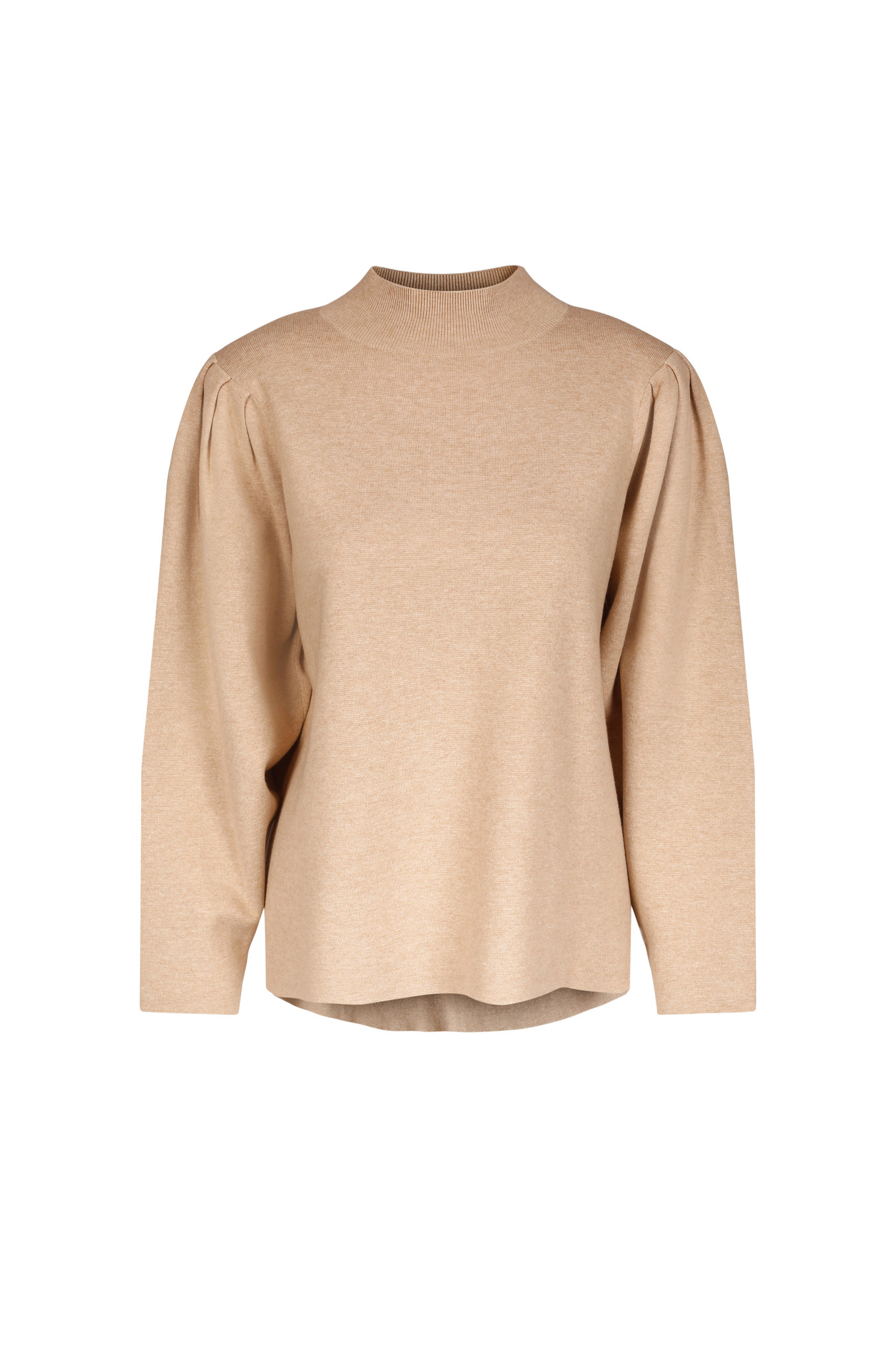 Claire Sweater - Camel Melange-1