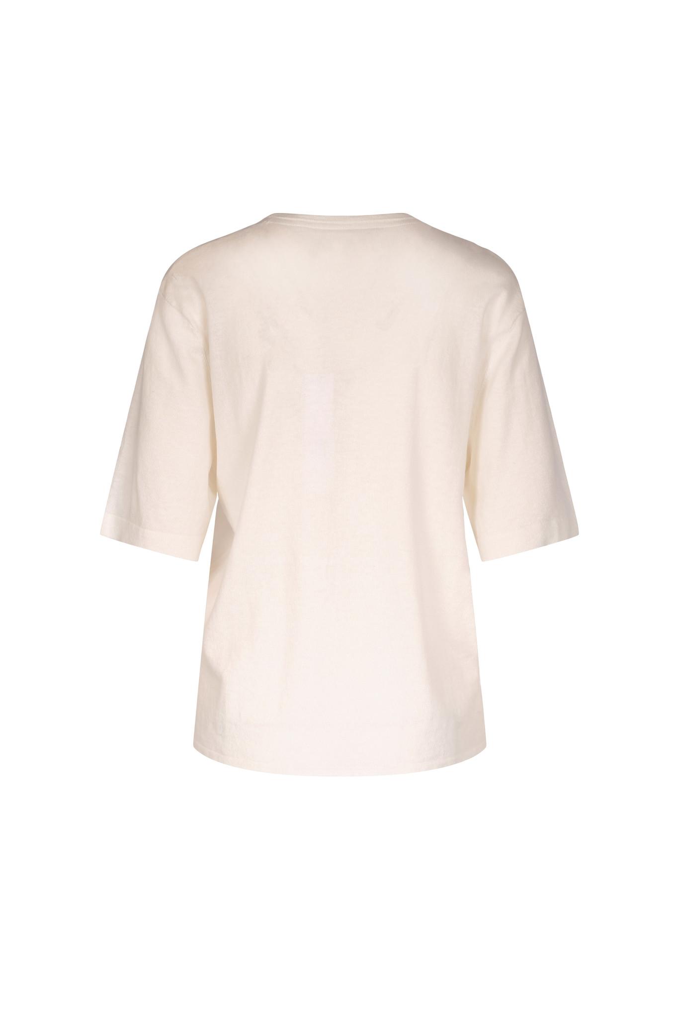 Joe Knitted Tee - Off White-2
