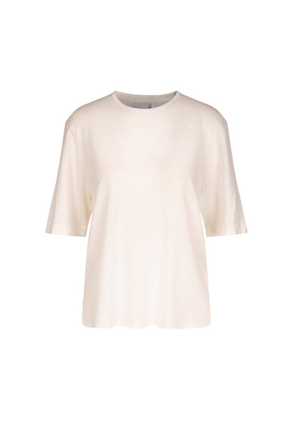Joe Knitted Tee - Off White