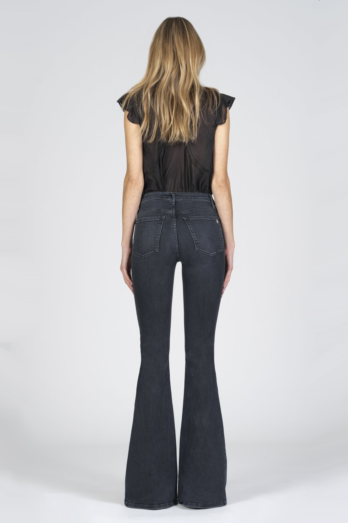 Grace Super Flare Jeans - Ride or Die-4