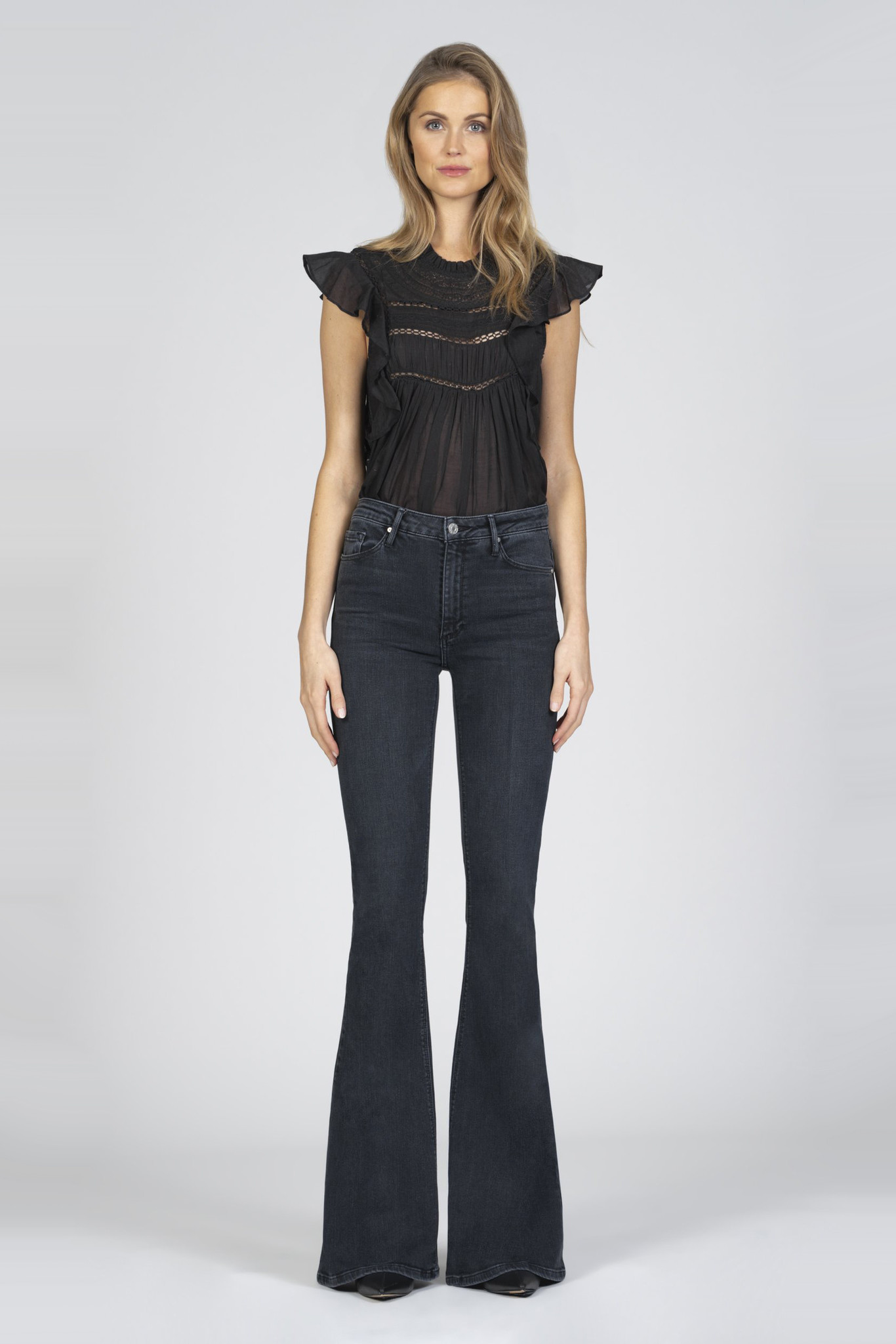 Grace Super Flare Jeans - Ride or Die-3