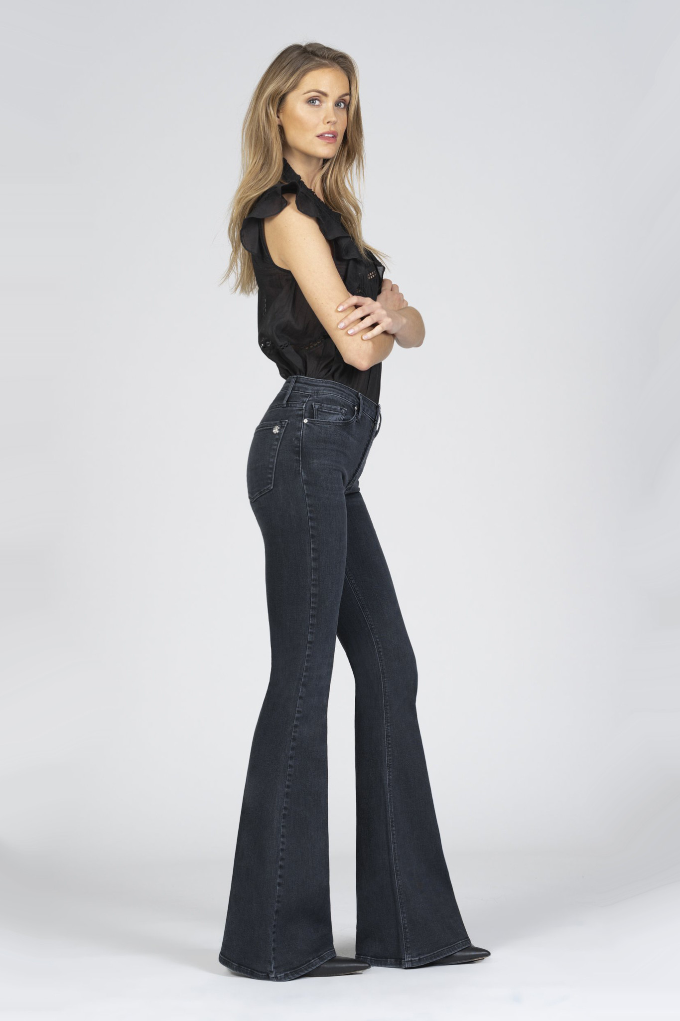 Grace Super Flare Jeans - Ride or Die-5