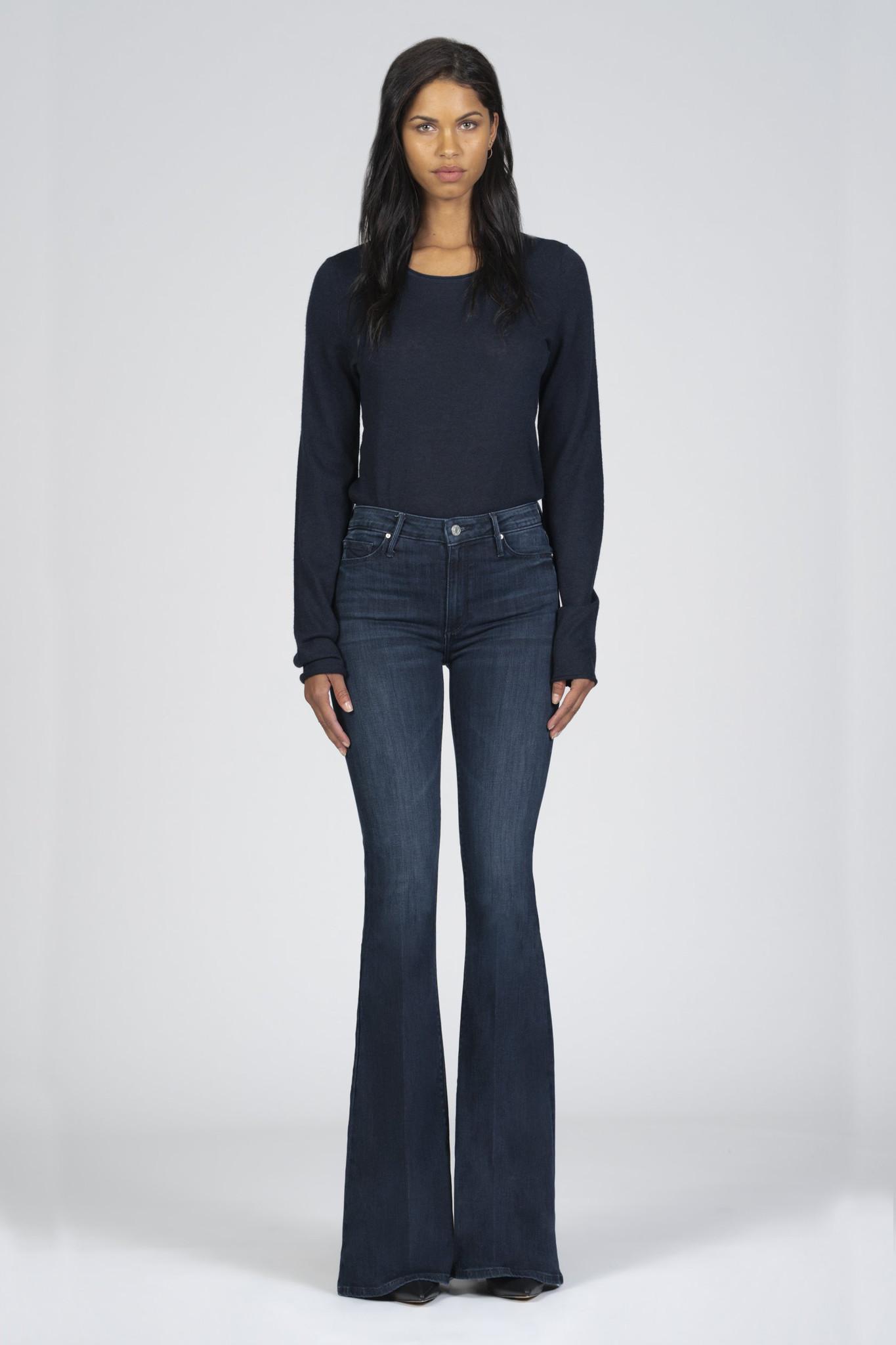 Grace Super Flare Jeans - Déjà Vu-3