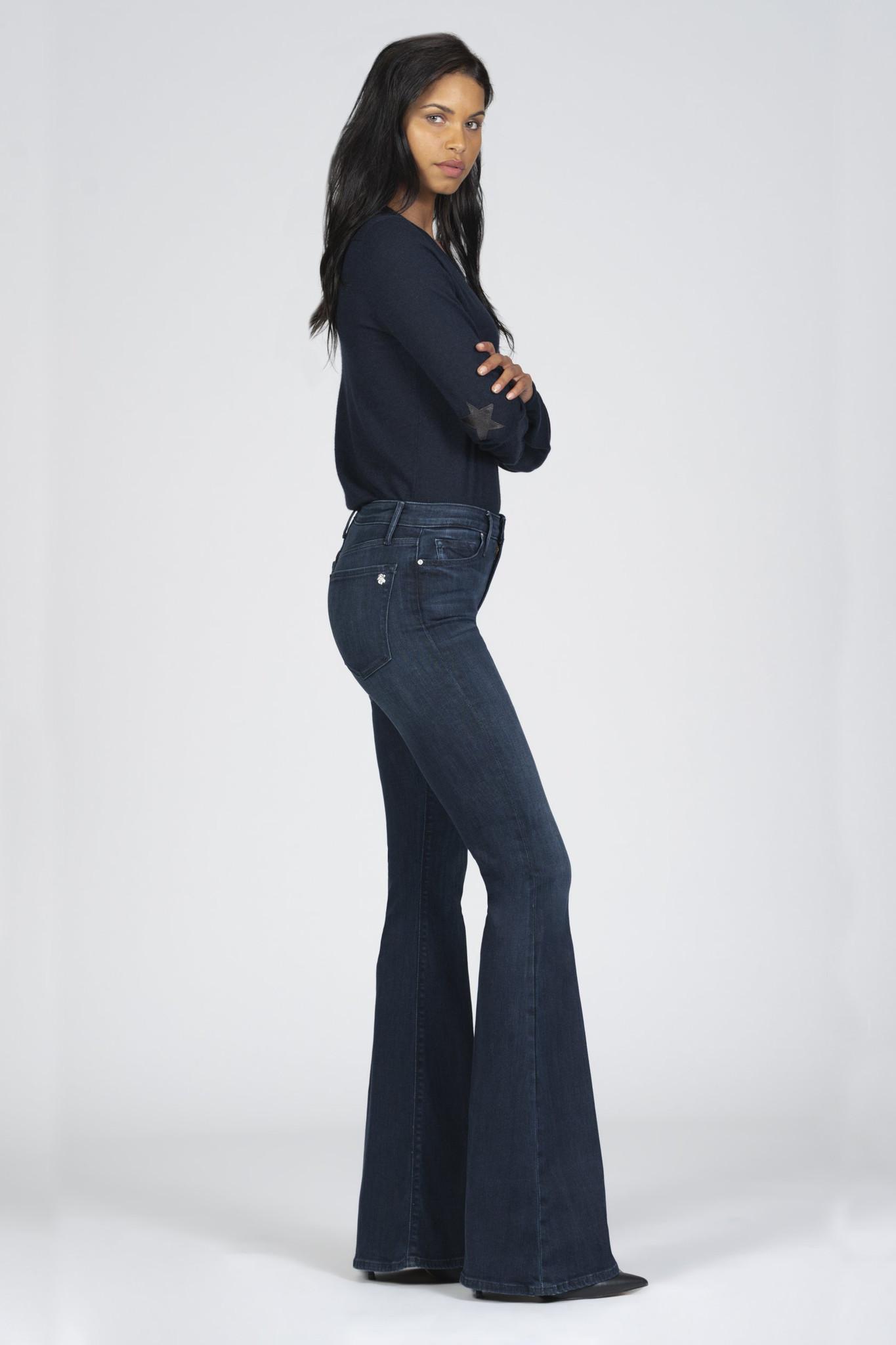 Grace Super Flare Jeans - Déjà Vu-5