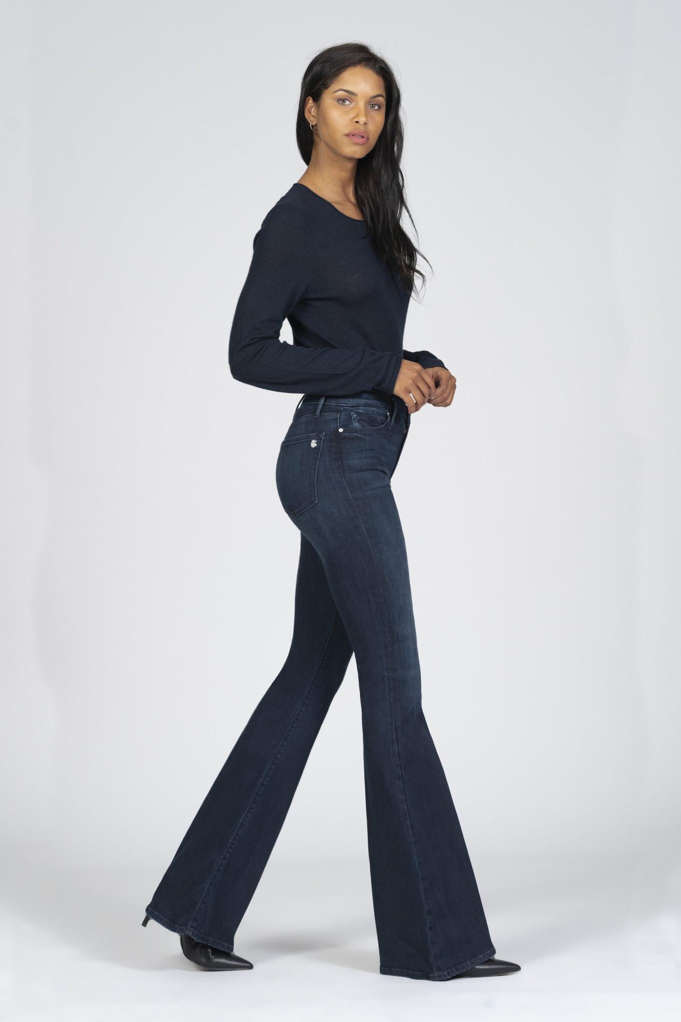 Grace Super Flare Jeans - Déjà Vu-2