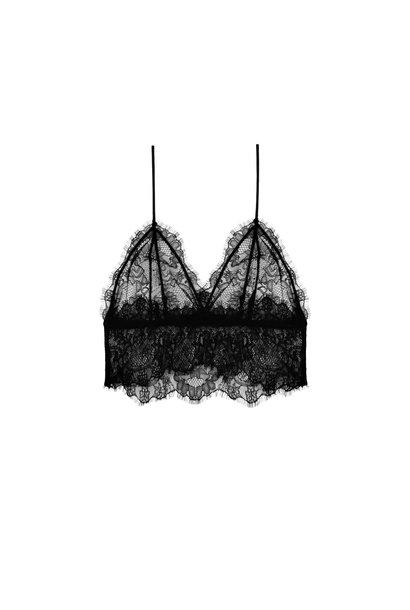 Kanten Bralette - Zwart