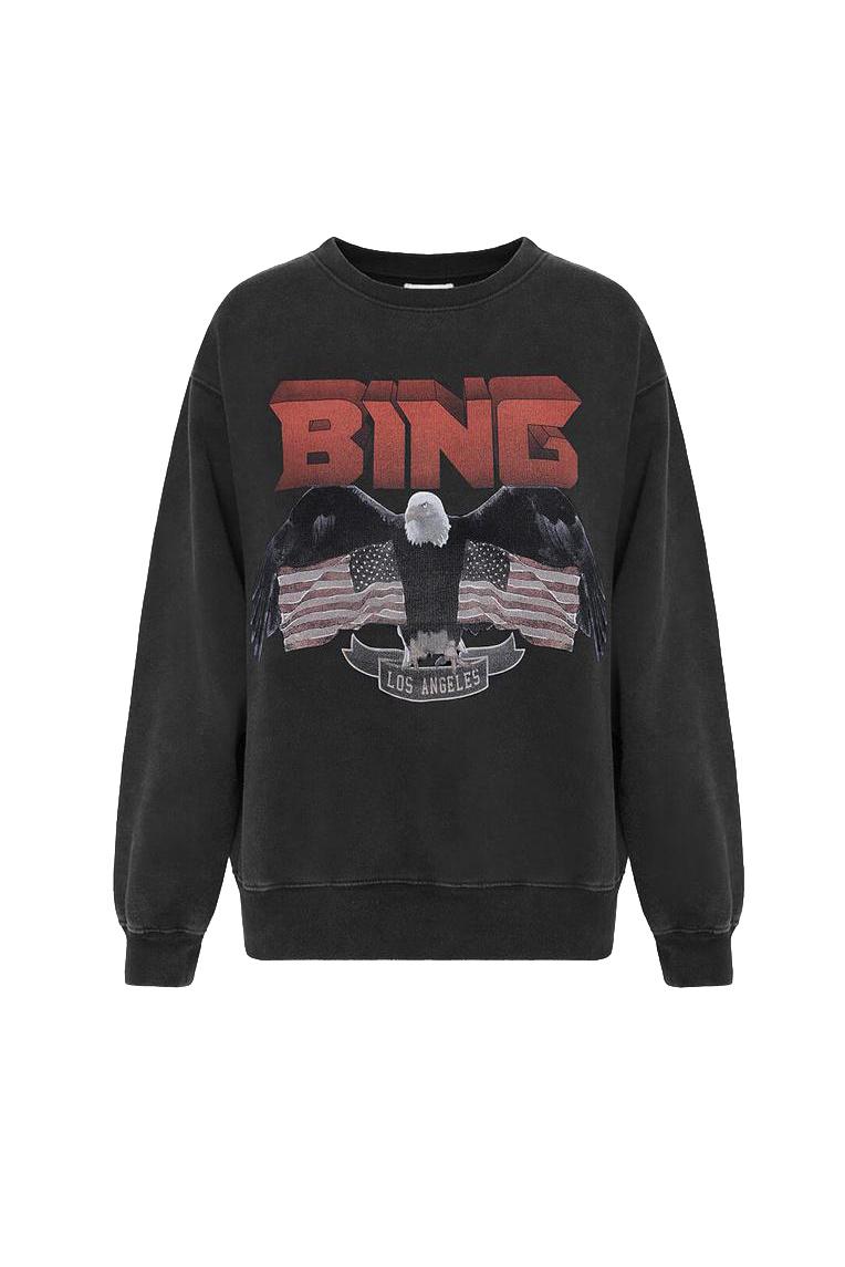 Vintage Bing Sweatshirt - Black-1