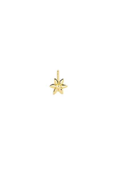 Flower Stud Earring - Gold
