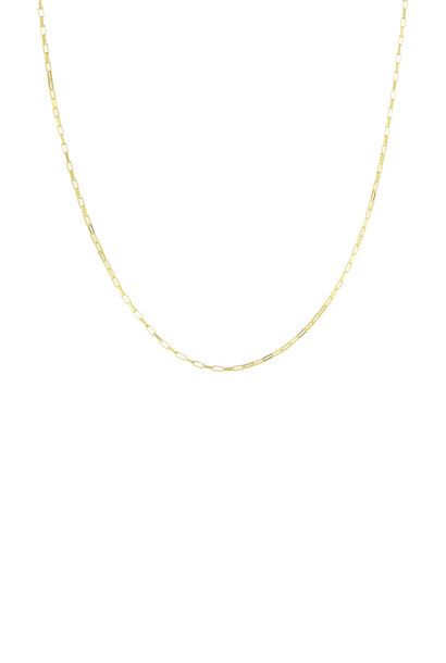 Square Necklace - Gold