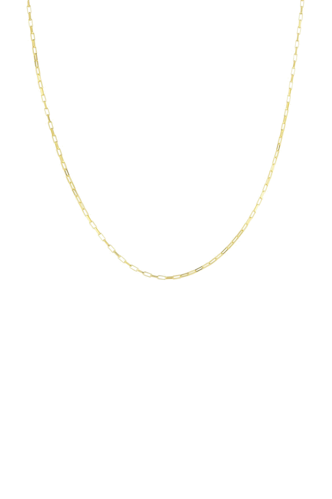 Square Necklace - Gold-1