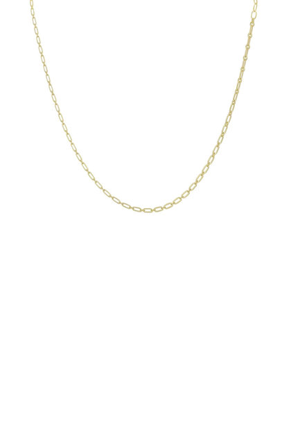 Figaro Choker Necklace - Gold