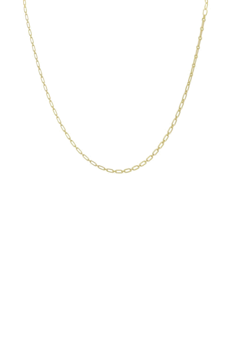 Figaro Choker Necklace - Gold-1