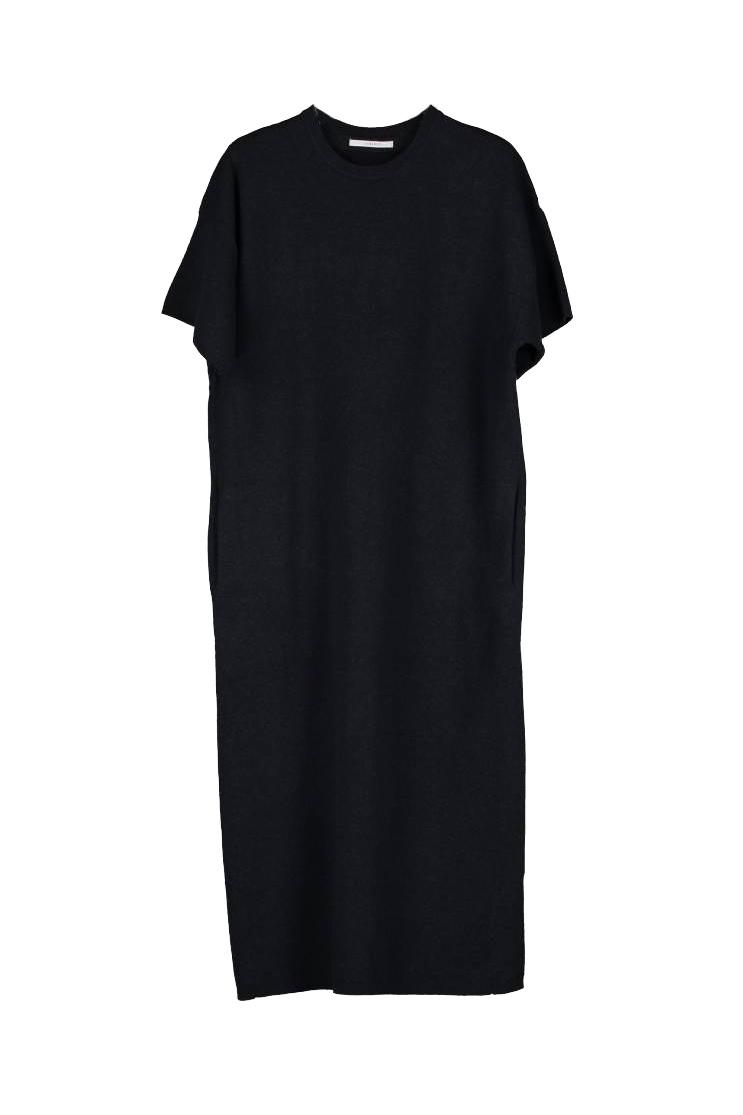 Halsey Dress - Blackish-1