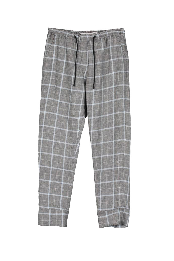 Fedde Trouser - Blackish Check-1