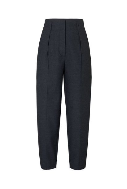Hailey Trouser - Black Melange Theory