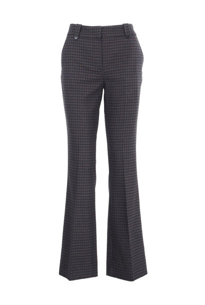 Clara Pants - Black Hounds Boucle 26