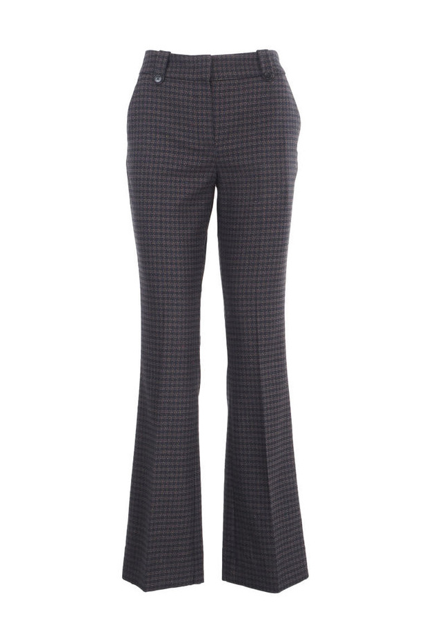 Clara Pants - Black Hounds Boucle 26-1